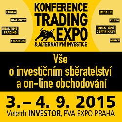 Veletrh Investor - Konference Trading Expo a Alternativní Investice