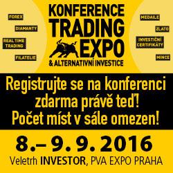 Navštivte konferenci Trading Expo