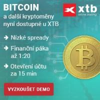 Obchodujte BITCOIN u XTB